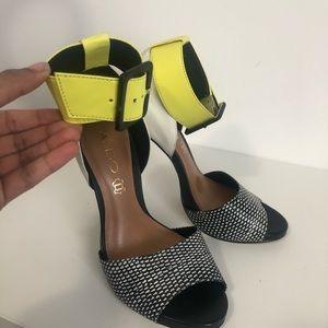 Aldo multi coloured heels